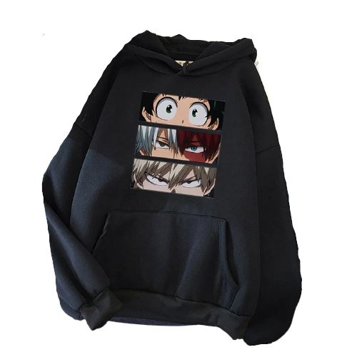 Sweatshirt Regards My Hero Academia - 8 Couleurs - Sunpō Shop
