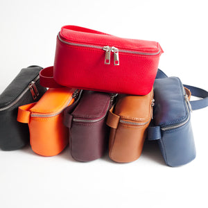 Roma Colors Italian Leather Belt Bag Solo Perché Bags