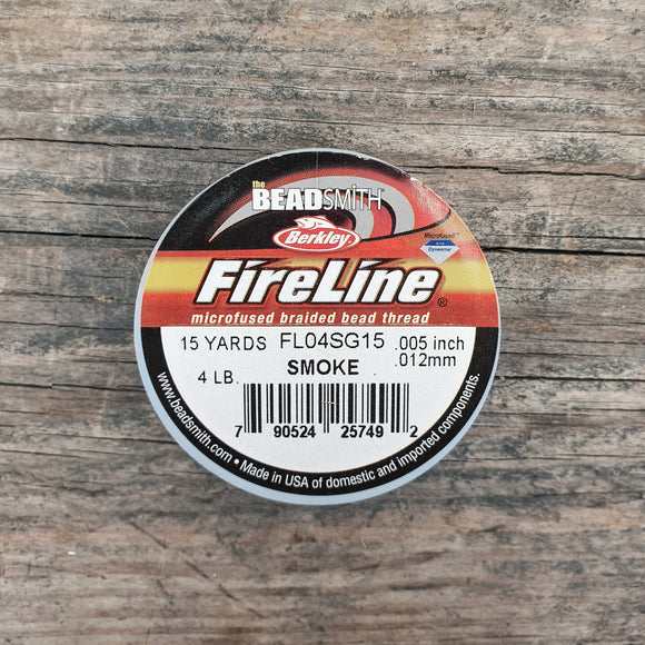 Fireline 4LB (0,12mm) 15 yards kleur Smoke