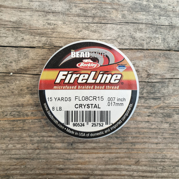 Fireline 8LB (0,18mm) 15 yards kleur Crystal