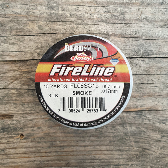 Fireline 8LB (0,18mm) 15 yards kleur Smoke