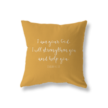 Load image into Gallery viewer, Psalm 16:8 pillow cover