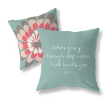 Load image into Gallery viewer, Isaiah 48:2 pillow cover