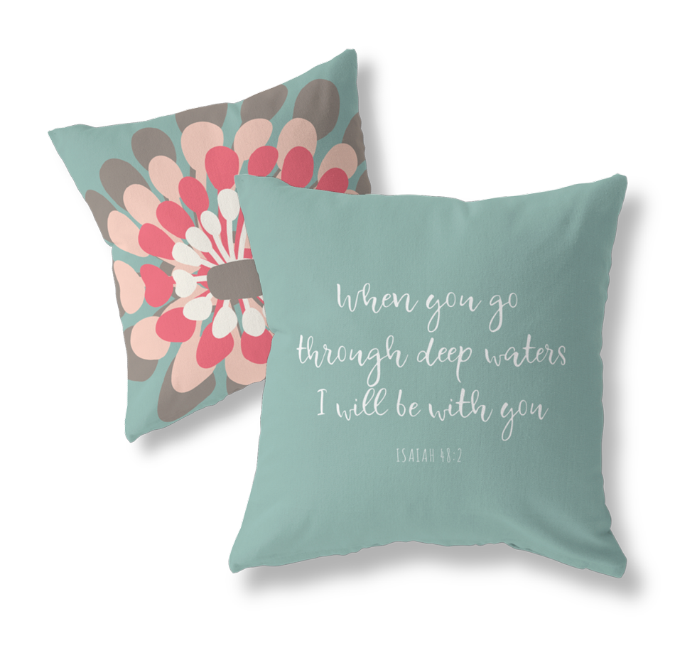 Isaiah 48:2 pillow cover