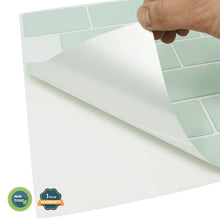 "Load image into Gallery viewer, Subway Mist 12"" x 12"" Peel & Stick Tile"