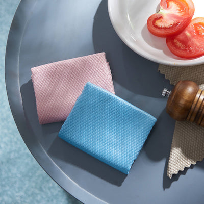 Anti-Grease Cleaning Rag Fish Scale Wipes