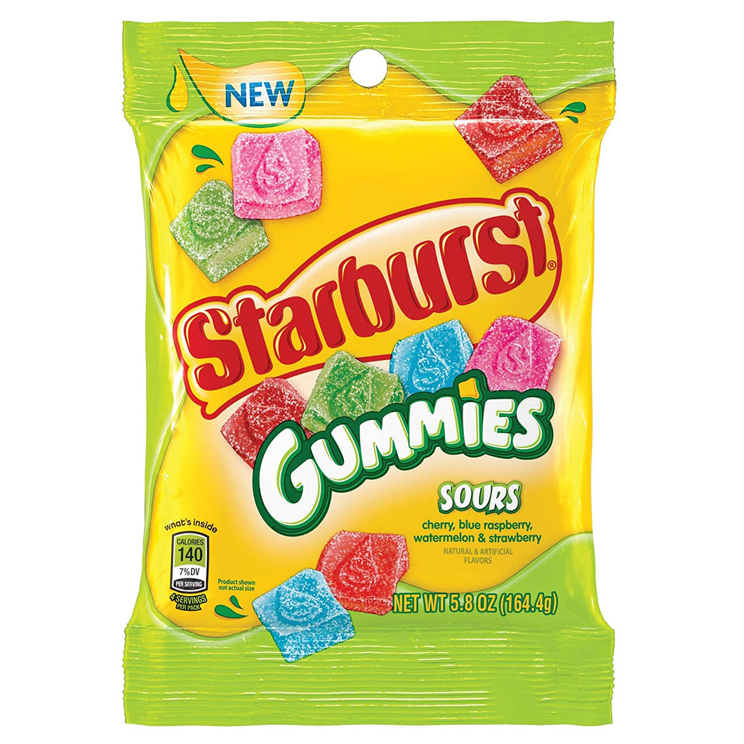 Starburst Gummies Sour Bag