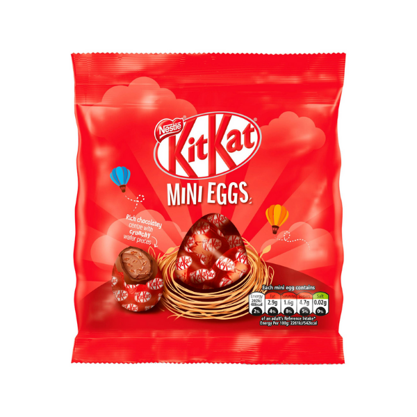 Kit Kat Mini Eggs Bag, 81gm
