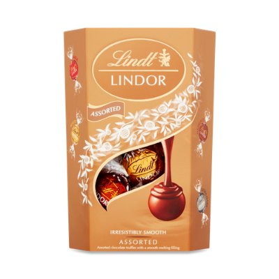 Lindt Lindor Assorted Chocolate Box, 200g