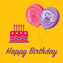 Load image into Gallery viewer, Happy Birthday Gift Card