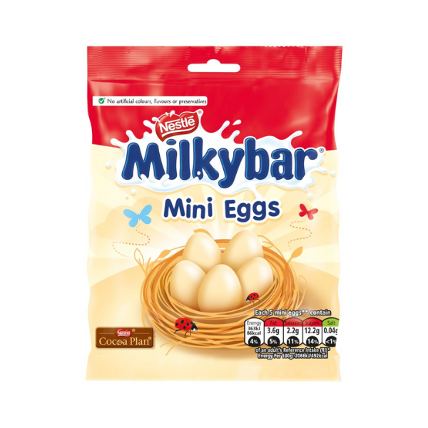 Milkybar Mini Eggs Bag, 80gm