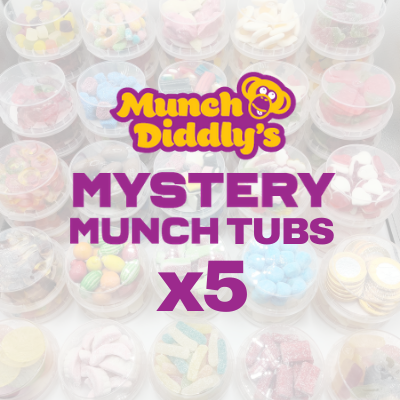 5x Mystery Munch Tubs