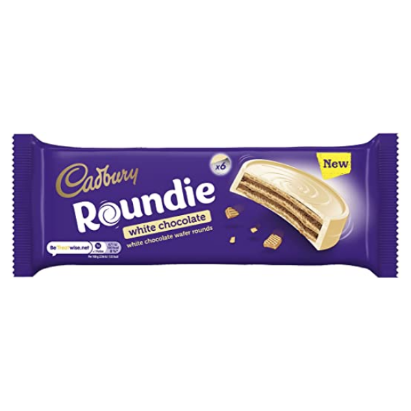 Cadbury Roundie White Chocolate, 180gm