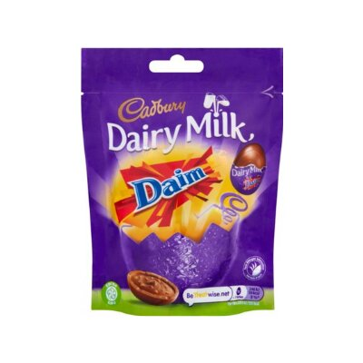 Cadbury Daim Mini Eggs Bag, 77g