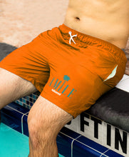 Load image into Gallery viewer, Dolphins Miami Swim Shorts - Amìle Bespoke