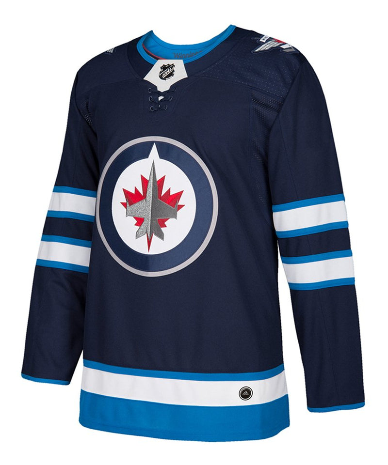 Winnipeg Jets Blue Home Name & Number Adidas Jersey
