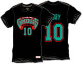 Vancouver Grizzlies Mike Bibby Name & Number T-Shirt