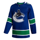 Vancouver Canucks Home Blue Jersey Customized