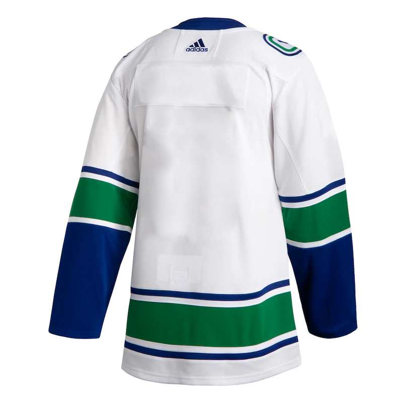 Bo Horvat 53 - Vancouver Canucks White Away Jersey