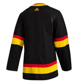 Vancouver Canucks Child N&N Black Skate Jersey