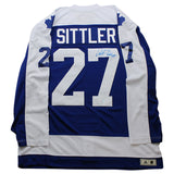 Toronto Maple Leafs Darryl Sittler Signed Classic Jersey HHOF 1989