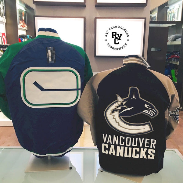 Reversible Canucks Jacket