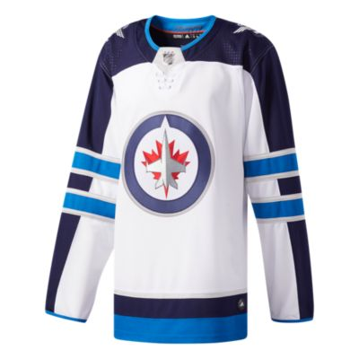 Winnipeg Jets White Away Jersey Customized