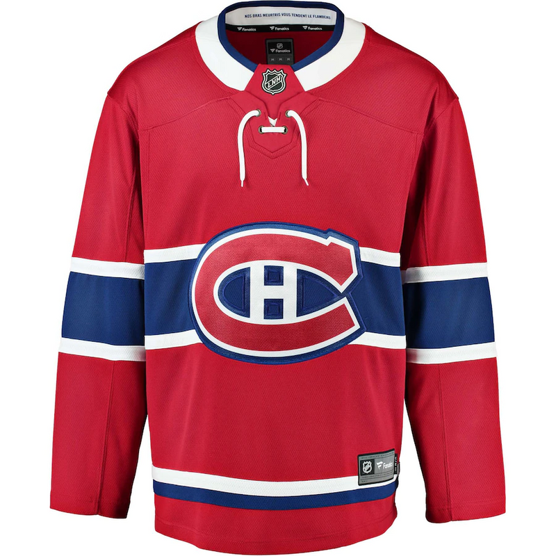 Montreal Canadiens Youth Blank Home Jersey