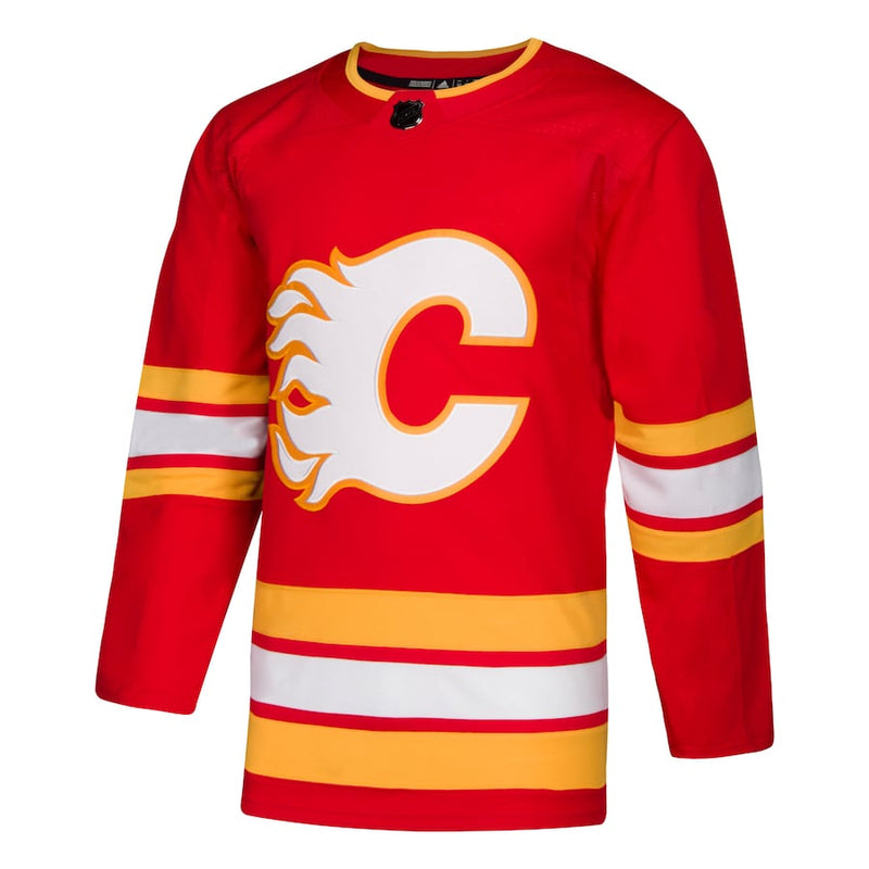 Calgary Flames Youth Blank Home Jersey