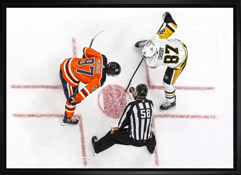 McDavid & Crosby 20x29 Unsigned Overhead Framed Canvas