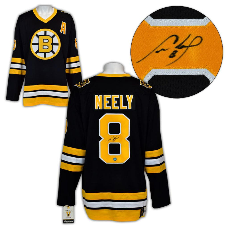 Cam Neely Boston Bruins Autographed Fanatics Vintage Hockey Jersey