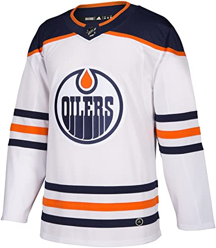 Connor McDavid 97 - Edmonton Oilers White Away Jersey
