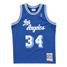 Shaquille O'Neal Blue Los Angeles Lakers Swingman Jersey