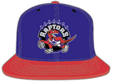 Toronto Raptors Purple/Red 2 Tone Snapback