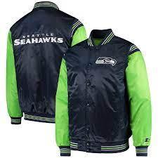 Seattle Seahawks Satin Starter Jacket