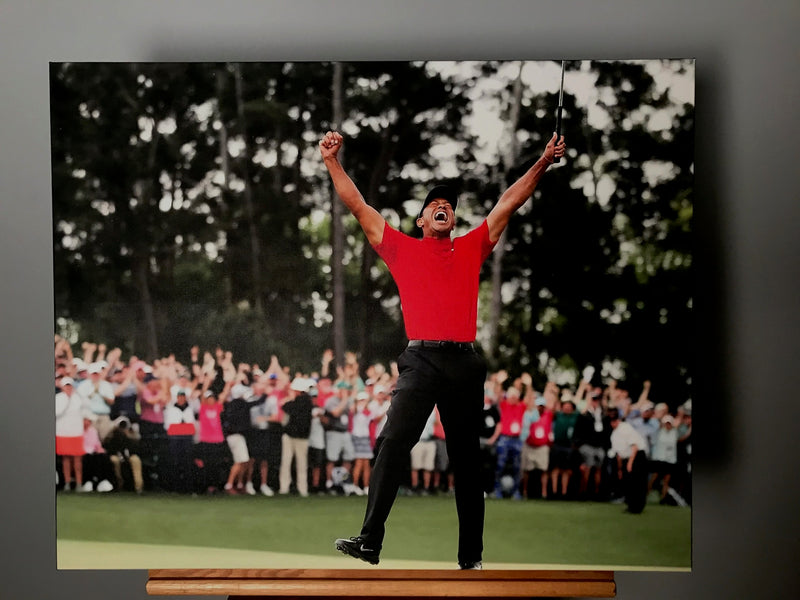 Tiger Woods 2019 Masters Champion Canvas
