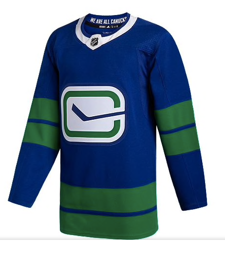 Elias Pettersson 40 - Vancouver Canucks Third Jersey