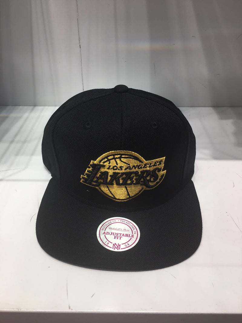 Los Angeles Lakers Gold Logo Snapback