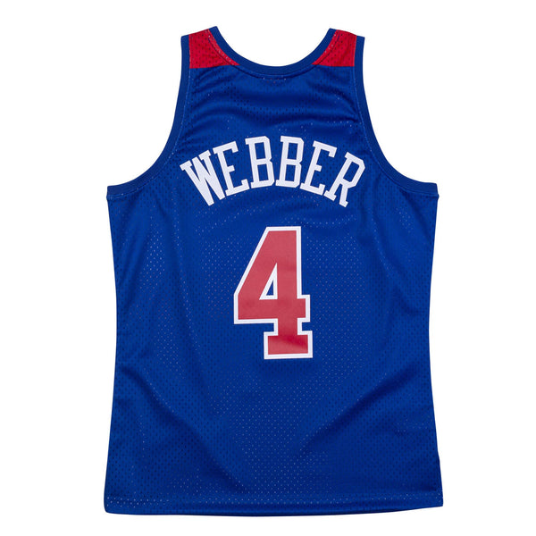 Washington Bullets Chris Webber Jersey
