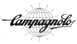 Campagnolo spoken here. This Campagnolo logo demonstrates the fact that this Local London bike shop in Stoke Newington stocks both new and vintage Campagnolo parts including rims, hubs, chains, cassettes, chainsets, cranks and bottom brackets.