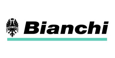 The Bianchi logo demonstrates that this Stoke Newington bike shop stocks Bianchi cycles and bikes.