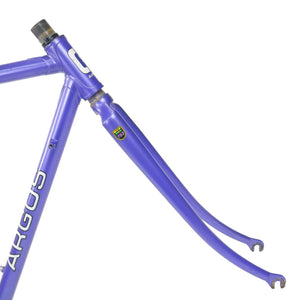Argos Classic Steel Purple & Green Frame Forks