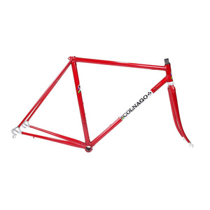 Colnago Super red and white frame drive side picture