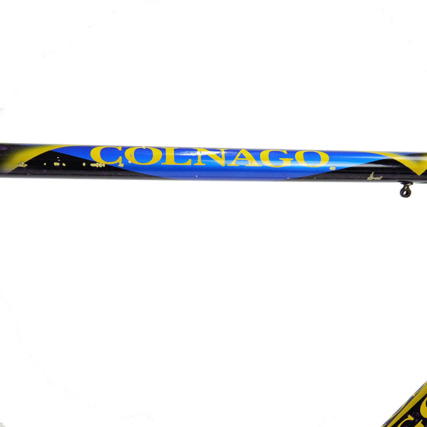Colnago Superissimo team frame top tube colnago decal
