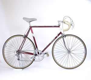 Carlton red & cream 58cm bike drive side