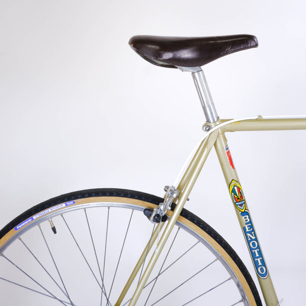 Benotto 800 classic road 57cm, seat clamp and rear wheel