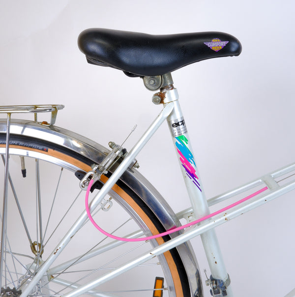 Peugeot Stepthrough Pearl 50cm seat tube and saddle.