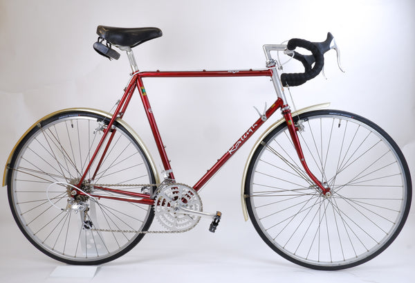 Raleigh Royal Red 58cm driveside.