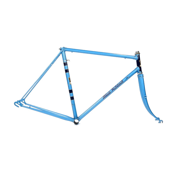 Hobbs Riband frame in blue from the drive side