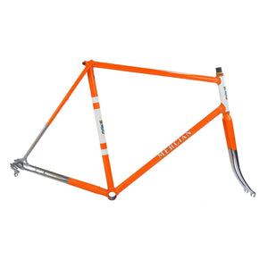 Mercian orange frame drive side